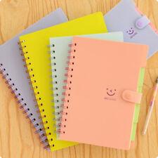 1xPure Coil Spiral Sketchbook Notebook Journal Diary NotePad 21X15CM Random