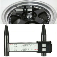 Outil Instrument Jauge Mesure Entraxe Jante Moyeu PCD Roue 4 5 6 8 Boulon Auto