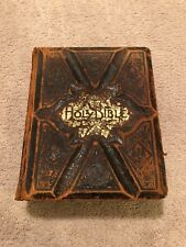 Holy Bible Antique Parallel Column Edition, Rare 1886, Over 130 years old.
