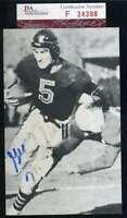 George Mcafee Jsa Coa Autograph Hand Signed Vintage Photo