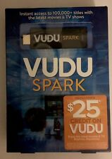 Vudu Spark (Vudu Streaming Stick) to Stream Vudu  FREE US SHIPPING OPEN BOX
