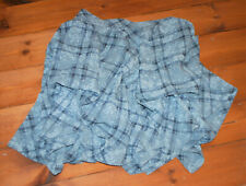 """A lovely hitch skirt, grey check & floral, Myrine and Me size S, waist 29 """""""