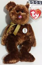 "TY Beanie Babies ""CHAMPION (USA)"" World Cup Soccer Teddy Bear - MWMTs! RETIRED!"