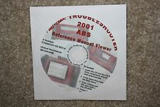 Snap-On MT2500 MTG2500 Scanner 2001 ABS Reference Manual Viewer CD Modis Solus