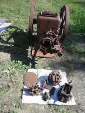Mogul Stationary Gas Engine 4 Hp Vintage Motor Antique Portable Throtle Governed