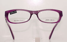 JIMMY CHOO JC 67 54B CLASSIC LADIES MAUVE PLASTIC GLASSES FRAME, STUNNING DECOR