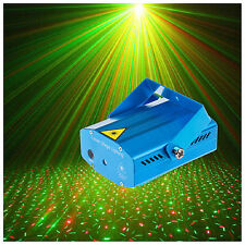 EU DJ Club Disco Projector Stage Laser Light Green Red Music Control Function