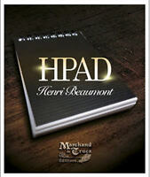 HPad by Henri Beaumont (Gimmick+DVD) Great Close up Mental Magic Trick Illusions