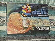 Catechic Catholic Family Trivia Board Game by Tyco 100 % Complete