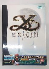 Ys ORIGIN Video Game for Windows VISTA/98/2000/Me/XP DVD ROM  in Japanese