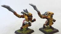 Warhammer Mordheim Beastmen army lot 2 long OOP metal beasts chaos