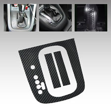 LHD For VW Golf MK6 GTI R20 AT Carbon Fiber Gear Panel Sticker DSG Panel Decal