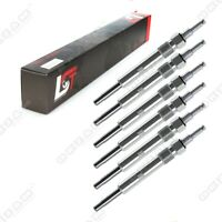 6 X GLOW PLUG FOR MERCEDES-BENZ E-CLASS W124 W210 E220 E300 - 11.5 VOLT
