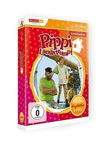 Astrid Lindgren: Pippi Langstrumpf - TV-Serie Komplettbox [5 DVDs/NEU/OVP]