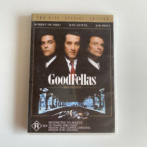 Goodfellas DVD two disk special edition R4