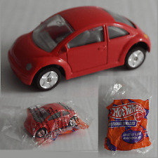 Hot Wheels Promotional Vehicle – VW New Beetle rot