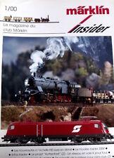 Marklin Insider Le magazine du Club Marklin n°1/2000 - Tr.21