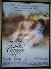 TENDRES COUSINES  !  david hamilton affiche cinema  erotique