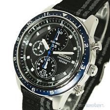 Seiko Sports 7t92 cronografo tachimetro cinturino nylon SNDF 47p1 SNDF 47