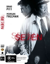 Seven 7 Se7en NEW DVD * Brad Pitt Gwyneth Paltrow Morgan Freeman serial killer