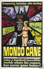 Mondo Cane Gualtiero Jacopetti vintage movie poster