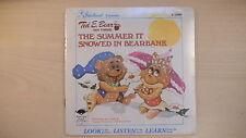 SEALED Starland Book & Record Ted E. Bear THE SUMMER IT SNOWED IN BEARBANK 1983