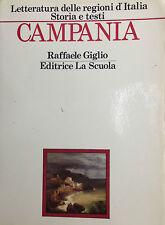 CAMPANIA  di R. Giglio  La Scuola 1988