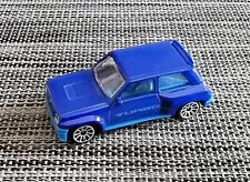 Majorette 210B, Renault 5 Turbo, blau, 1/56, selten