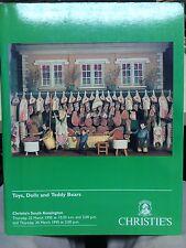 Christie's Thunderbirds Toys Dinky Teddy bear & Dolls Auction Catalogue Mar 1995