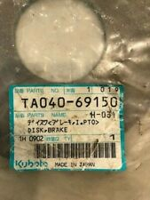 Kubota ta040-69150 PTO clutch pak brake dics OEM part new