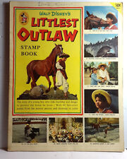 1955 Walt Disney LITTLEST OUTLAW Golden Stamp Book- Used-FREE S&H (C6522)