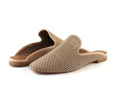 Frye Laser Cut Gwen Perforated Blush Nubuck Leather Slide Sandal NEW Size 11