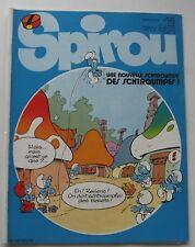 JOURNAL SPIROU N°2370 avec LE CORRESPONDANT N°50 1983 BON ETAT