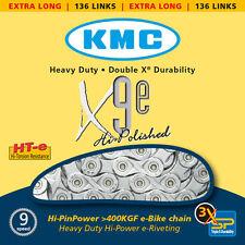 """9 especializada cadena KMC x-9-e para e-bike 1/2"""" x 11/128"""", 136 eslabones"""