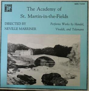 Handel Vivaldi Telemann Selected Works Academy St. Martin-in-the-Fields Cassette