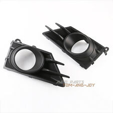 Pair of Right & Left Fog Light Lamp Bezel Cover Grill for 2013-2016 Subaru BRZ