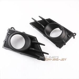 Pair of Right & Left Fog Light Lamp Bezel Cover Grill for 2013-2016 Subaru BRZ