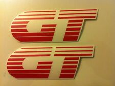 Stickers autocollants monogramme Peugeot 205 GT rouge red
