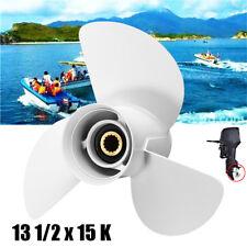 13 1/2 X 15 K bateau moteur hélice pour YAMAHA 50-70-80-90-100-115-140HP moteur