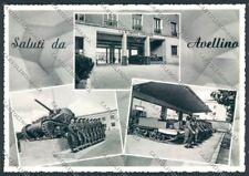 Avellino Militari Carroarmato Foto FG cartolina ZF5996