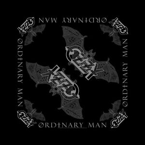 Ozzy Osbourne Ordinary Man cotton bandana  550mm x 550mm (rz)