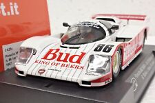 SLOT IT SICA25C PORSCHE 962 BUDWEISER SEBRING 87' 1st PLACE IMSA 1/32 SLOT CAR