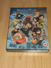 Attack On Titan Junior High Collector's Edition (Blu-ray) Brand New and Sealed