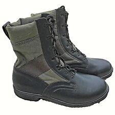 BRITISH ARMY - Black Green Jungle Boots Combat Lightweight Military Assault