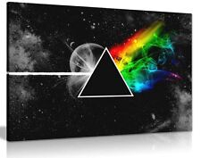 Pink Floyd Dark Side Of The Moon Canvas Wall Art Picture Print