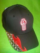KENWORTH HAT:      DIAMOND PLATE VISOR TRUCKER'S CAP  *FREE SHIPPING *