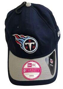 New! Tennessee Titans New Era NFL Women's Adjustable Navy Logo Cap Hat Ladies
