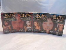 BUFFY THE VAMPIRE SLAYER CCG LOT OF ALL 4 THE WISH THEME DECKS