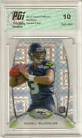 Russell Wilson 2012 Topps Platinum #138 Xfractor Rookie Card PGI 10