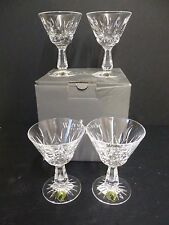 4 X WATERFORD CRYSTAL ROSSLARE COCKTAIL GLASSES *NEVER USED AND BOXED*